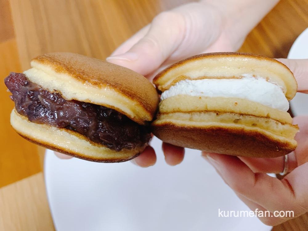 キチココ お店人気No.1の「塩バターのどら焼き」と「スイートポテトのどらケーキ」