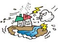 筑後市で突風(ダウンバースト)被害 発達した積乱雲の影響か【3月12日】