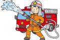 久留米市田主丸町益生田 中央町公民館南側付近で枯草火災が発生